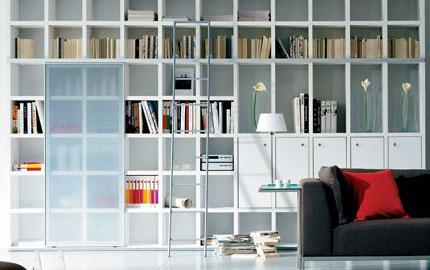 - Square Bookcase Cabinet